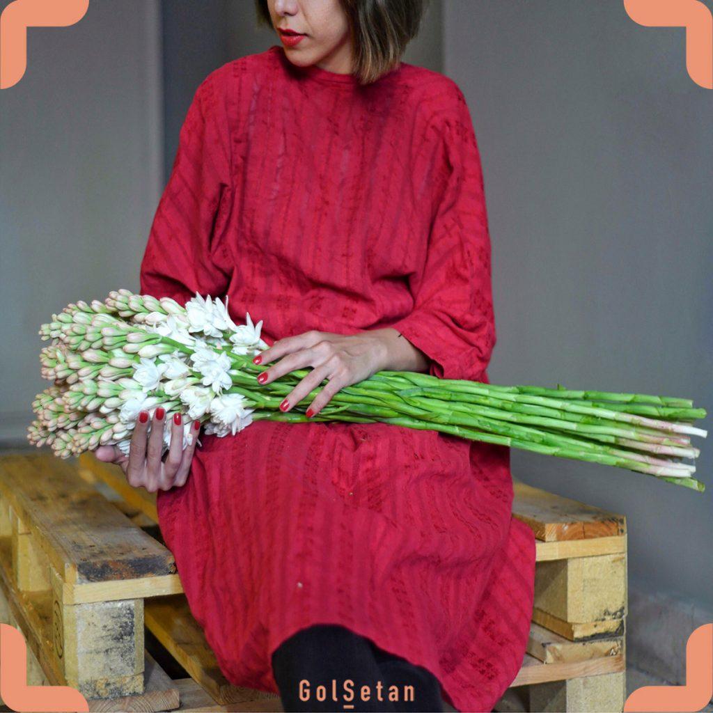 خرید دسته گل مریم معطر