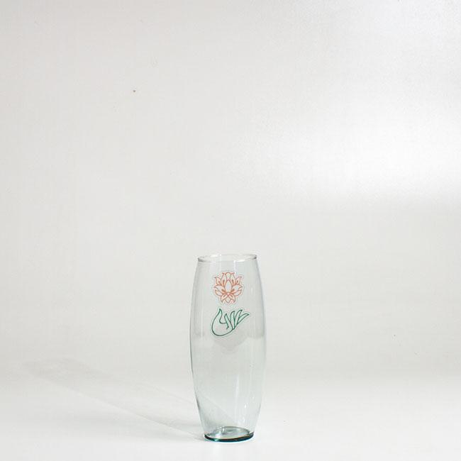 گلدان گل شیشه ای