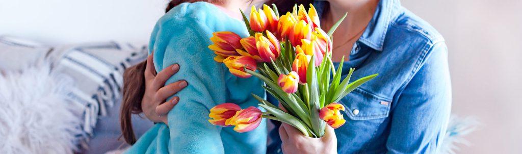 دسته گل روز مادر