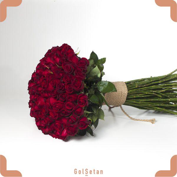 یک بغل گل رز