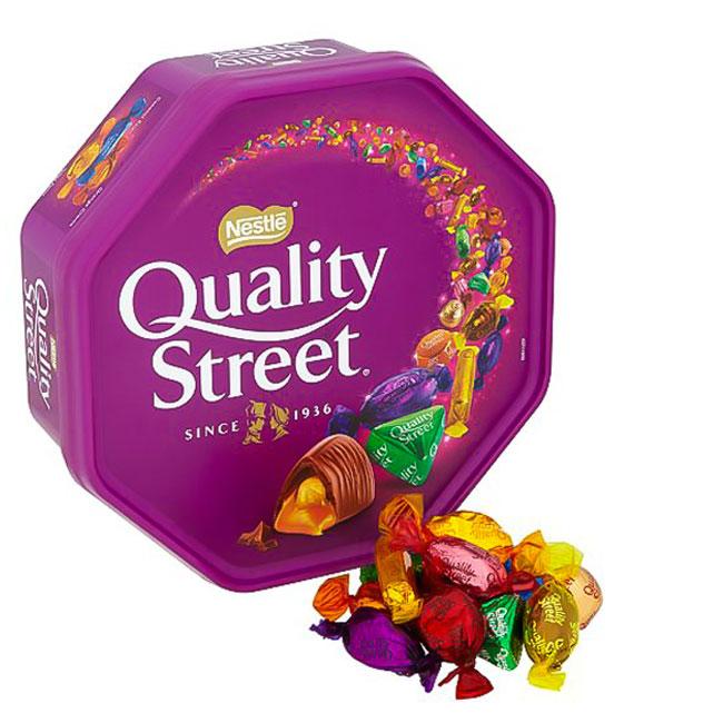 شکلات کوالیتی استریت Quality Street Nestle