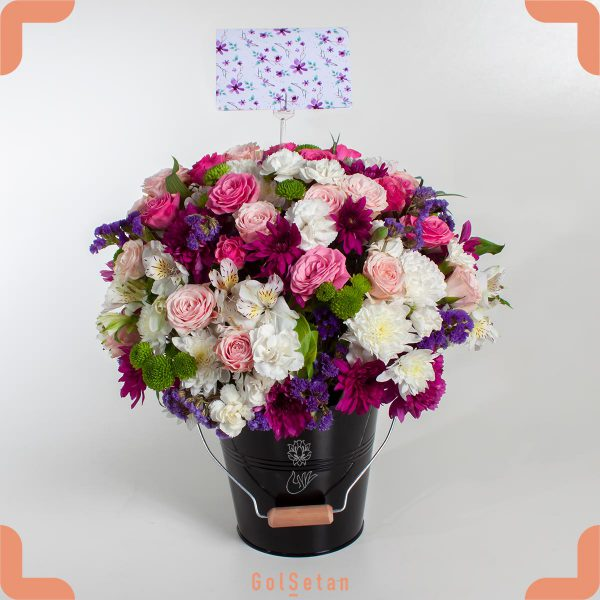 باکس گل کادویی مهر جان
