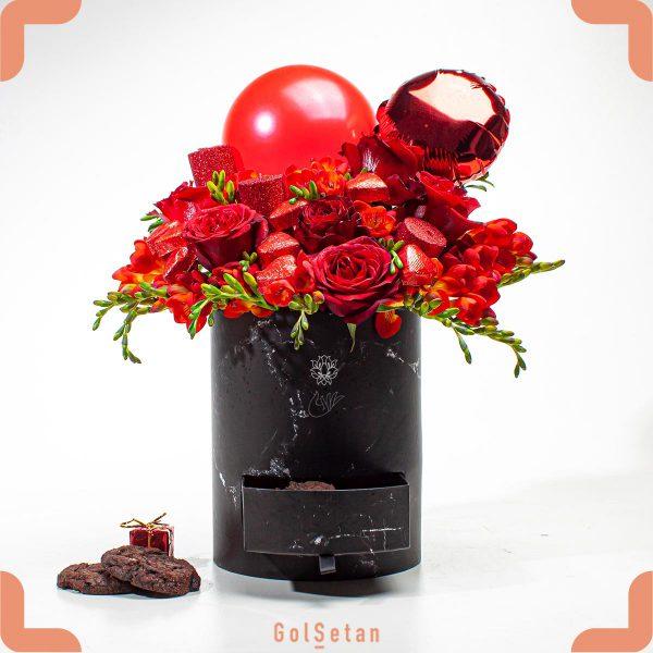 باکس گل رز عشق جاویدان